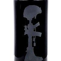 Dope Jars® 1 Liter - Deep Etched Design: Veteran Design