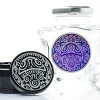 Dope Jars® + Herb Grinder Combo Pack - Black Shroom