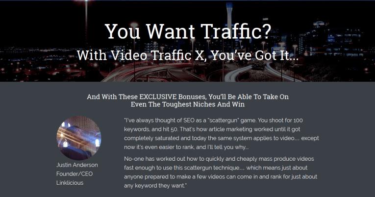 video traffic x reviews
