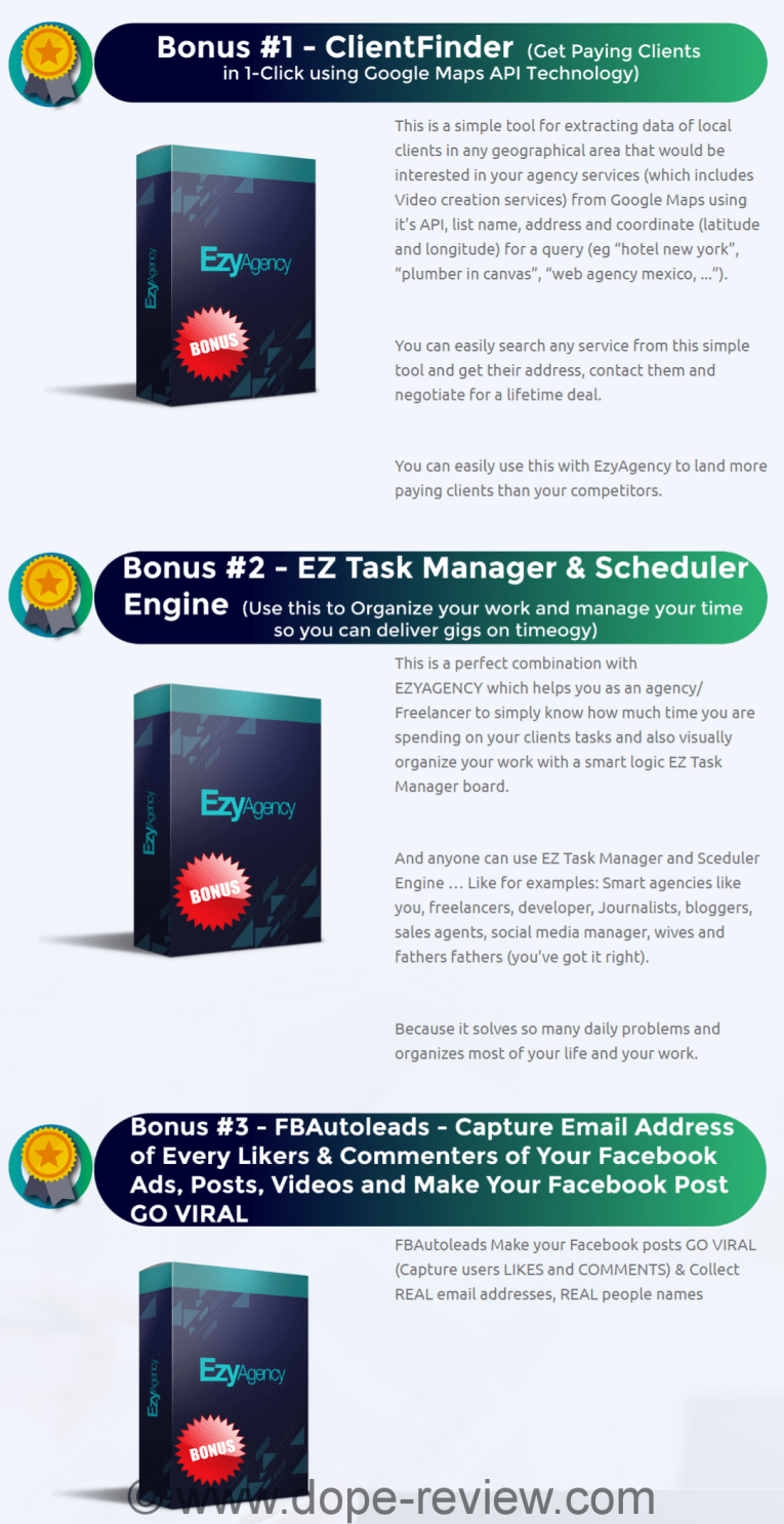 EzyAgency Review & Bonuses - Should I Get This Software?