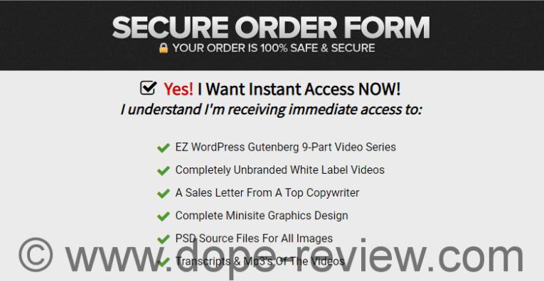 EZ WordPress Gutenberg Review