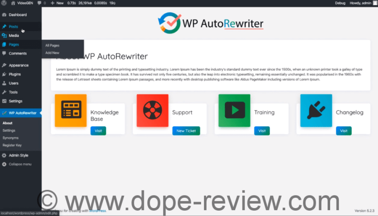 WP AutoRewriter Review