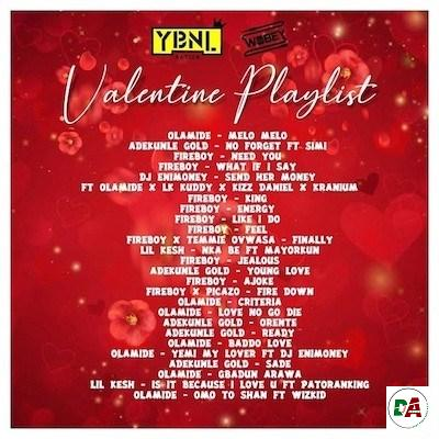 DJ Enimoney Valentines Playlist