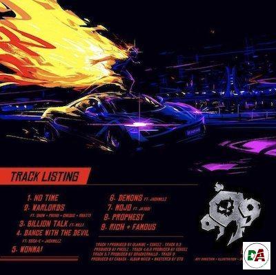olamide 999 album tracklist