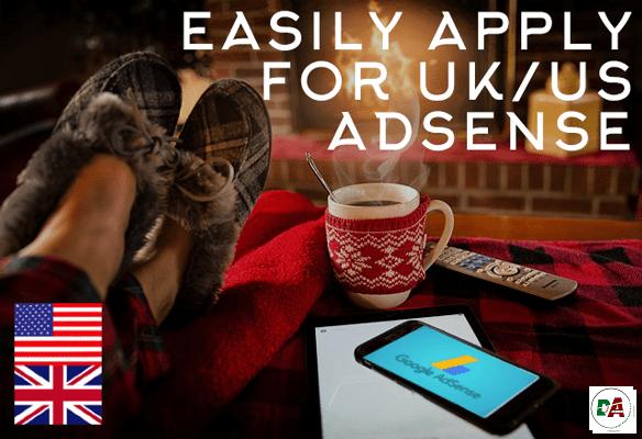 uk and us adsense