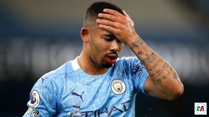 Manchester City's Gabriel Jesus, Walker test positive for COVID-19