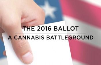 The 2016 Ballot: A Cannabis Battleground 2