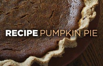 Recipe: Pumpkin Pie