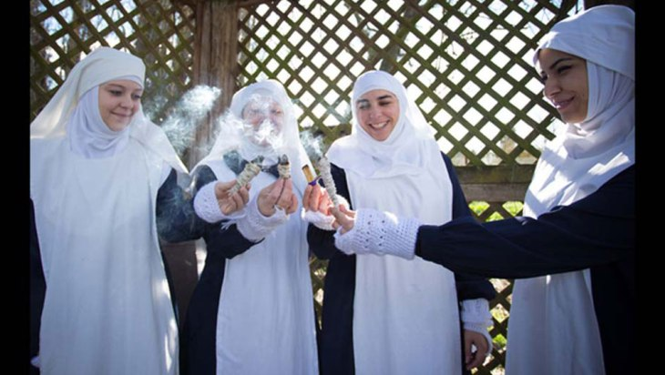 SISTERS OF THE VALLEY: Old Habit in a New Age 1