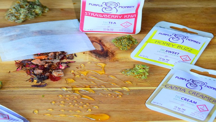Purple Monkey Infused Herbal Teas
