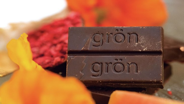 Grön's 2:1 Chocolate Raspberry Bar