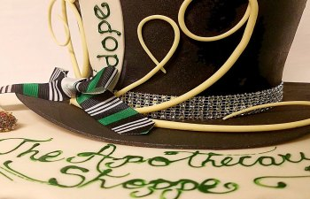 Infused Celebration Cake by The Apothecary Shoppe