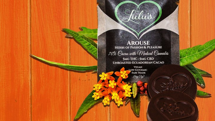 1:1 THC:CBD Chocolate Mood Coins by Lulu's Botanicals