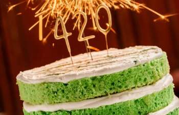 Infused Green-Velvet Cake Recipe