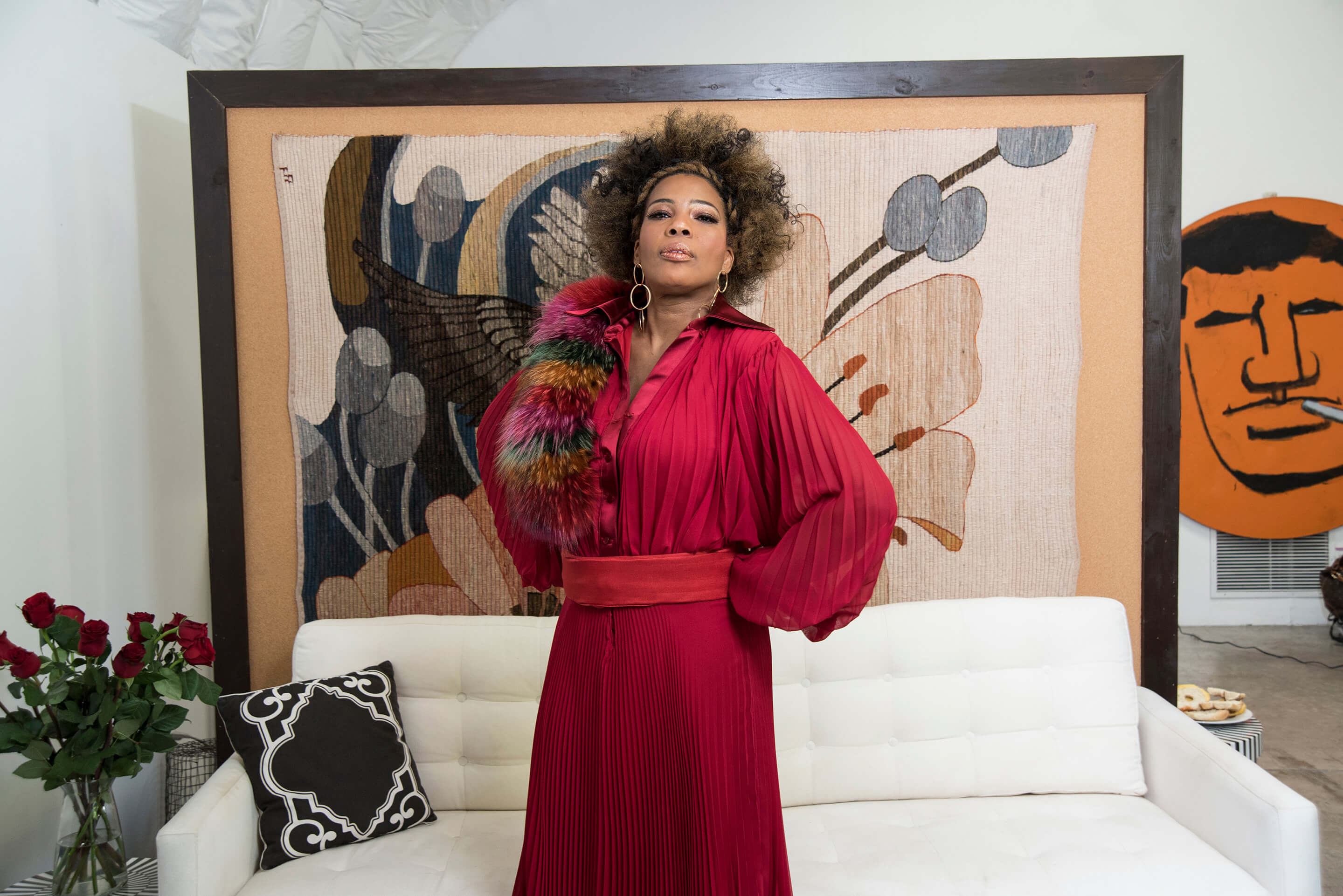 Macy Gray as styled by Nonja Mckenzie in West Hollywood 2018...