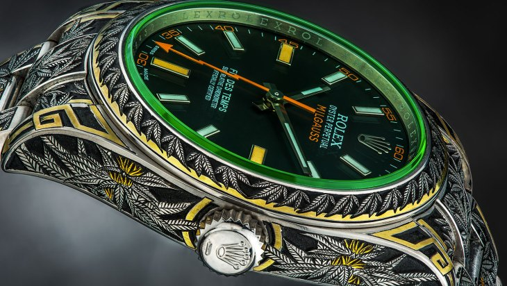 Third Eye Assembly Rolex Watch