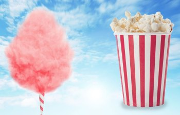 cotton candy or popcorn