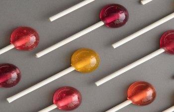 CaramelAçaí Lollipop by Half Lit