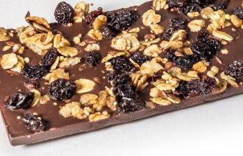 Vegan Chocolate Crumble Bar by Cosmos Edibles
