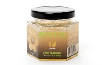 Hemp Blossoms Clover Honey by iIndulge