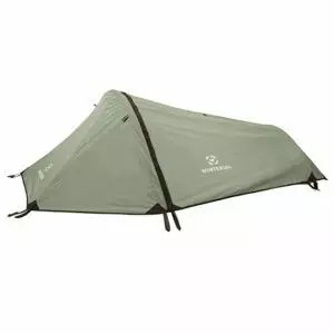 Winterial Single Person Tent, Personal Bivy Tent. Lightweight Backpacking Tent