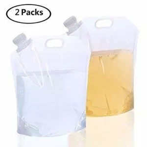 AMACASE Collapsible Water Container for Backpacking