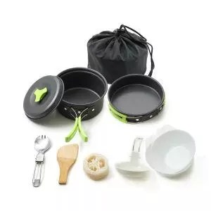 HONEST OUTFITTERS Honest Portable camping cookware mess kit