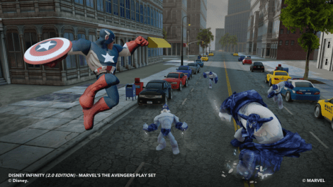 Captain America (In Game)
