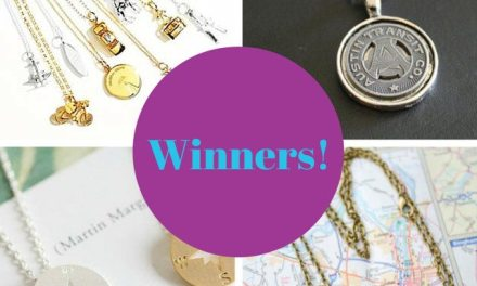 Announcing the Winners of the Travel Jewelry Giveaway