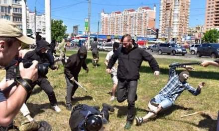 Kiev Pride Sees Explosives and Molotov Cocktails