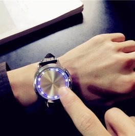 Waterproof LED Watch