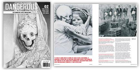 Señorita Muerta by Laurie Lipton