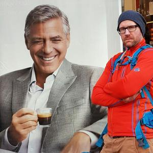 Zwillingsvater und George Clooney