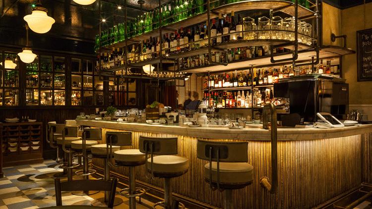 Bancone illuminazione Bar