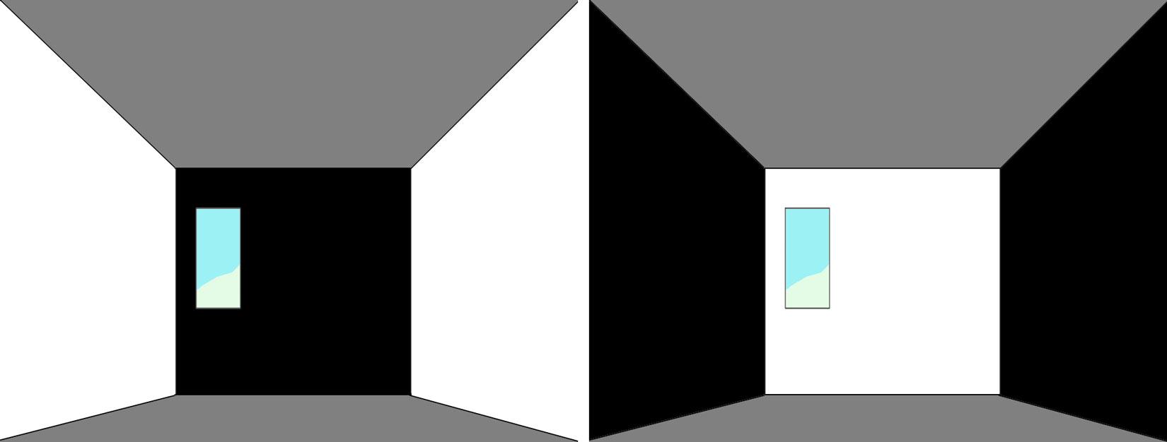 forma colore pareti
