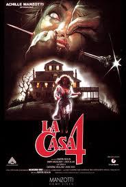 La casa 4, locandina italiana del film