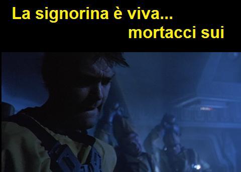 Scena iniziale di Aliens (1986) dove salvano Ripley