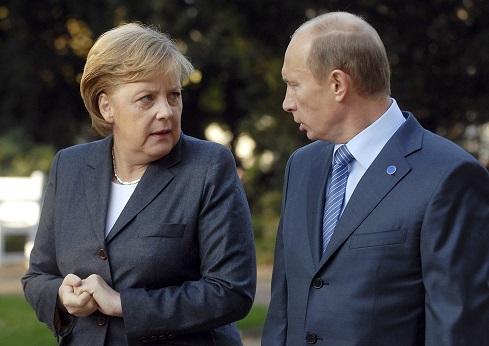 Incontro tra Angela Merkel e Putin