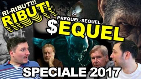 copertina episodio speciale su YouTube dedicato ai sequel e reboot