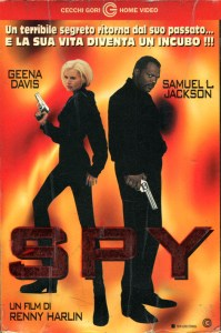 Copertina dell'edizione VHS italiana del film Spy, marchio CecchiGori
