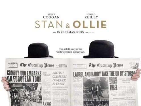 Stan & Ollie, poster del film su Stanlio e Ollio, in uscita nel 2018