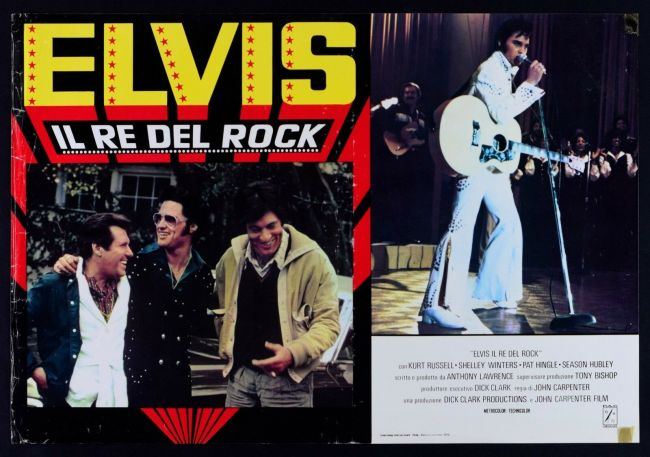 Fotobusta del film Elvis il re del rock 1979