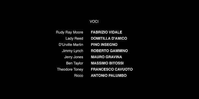 cast doppiaggio dolemite is my name con fabrizio vidale