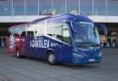 Národní tým hokejistů bude vozit nový autobus Scania Irizar i6s