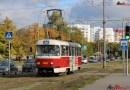 FOTOPOSTŘEHY DOPRAVÁČKA – pražské tramvajové vozy v Charkově
