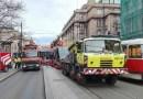 Z ARCHIVU DOPRAVÁČKA – poškození pantografu u tramvaje Škoda 15T