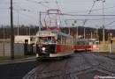 FOTOPOSTŘEHY DOPRAVÁČKA – Tramvajové vozy T2 na zkušebních jízdách