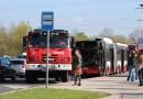 Z ARCHIVU DOPRAVÁČKA – autobus po požáru v Praze na Vypichu