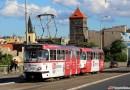 Dopravní podnik v Praze uzavřel přední dveře starších typů tramvají pro nástup a výstup