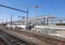 OBRAZEM: Výstavba nové železniční stanice Praha-Zahradní Město
